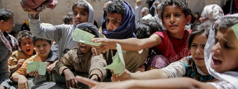 Hungersnot im Jemen - Foto: Hani Mohammed/AP