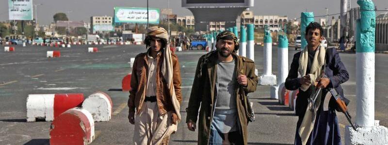 Huthi-Rebellen - Foto: Mohammed Mohammed/XinHua