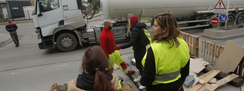 Blockade - Foto: Michel Euler/AP