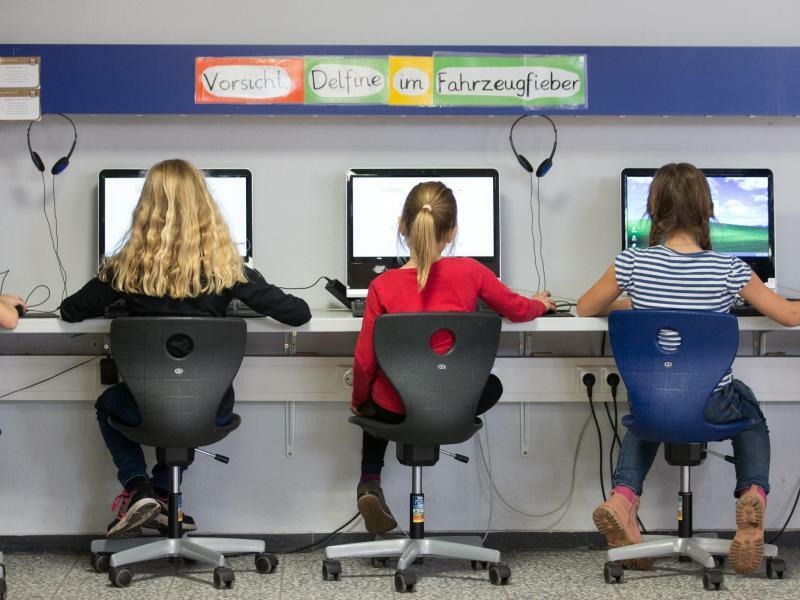 Digitalisierung in der Schule - Foto: Friso Gentsch