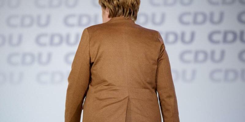 Merkel in Hamburg - Foto: Michael Kappeler