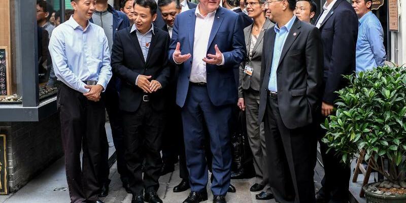 Steinmeier in China - Foto: Britta Pedersen