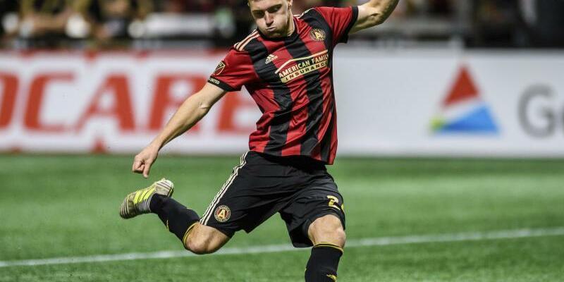 Julian Gressel - Foto: Julian Gressel steht mit Atlanta United im Finale der MLS. Foto:Danny Karnik/AP