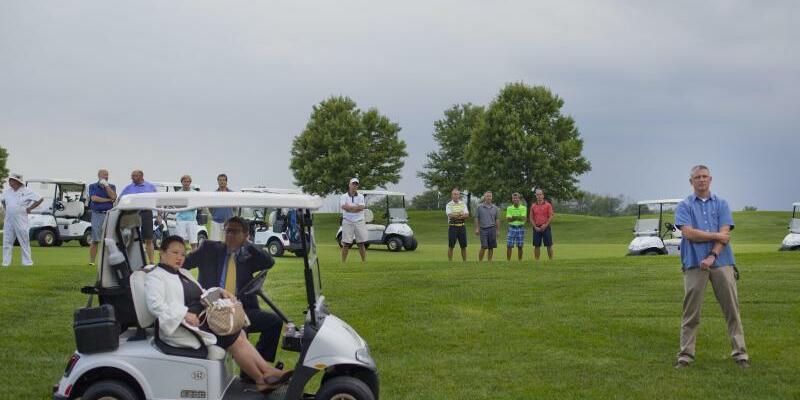 Trump-Golfclub - Foto: Pablo Martinez Monsivais/AP