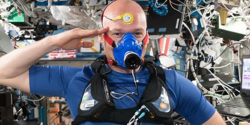 Alexander Gerst - Foto: Alexander Gerst/ESA/NASA