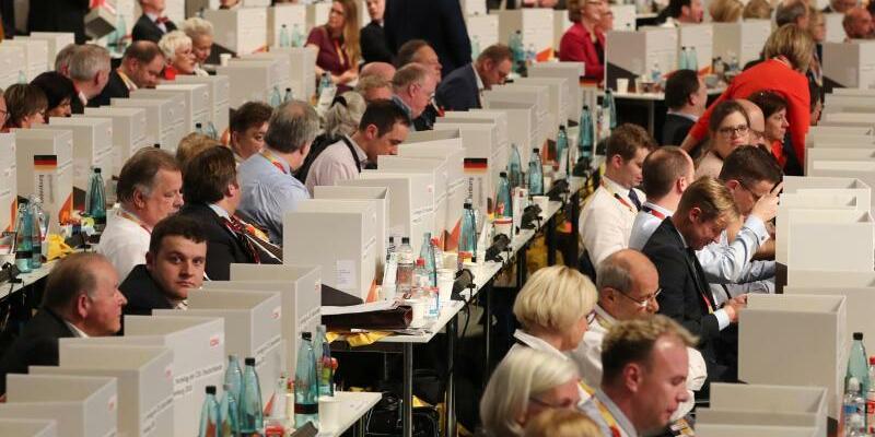 CDU-Parteitag - Foto: Christian Charisius