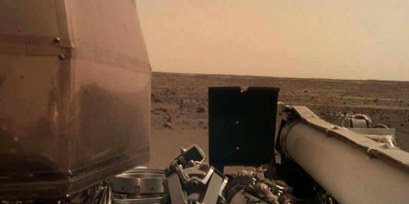 Nasa-Sonde «InSight» - Foto: NASA/AP