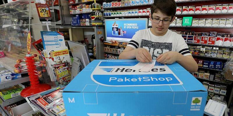 Paketshop im Kiosk - Foto: Oliver Berg