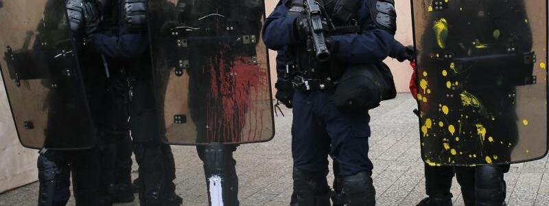 Proteste in Frankreich - Foto: Rafael Yaghobzadeh/AP