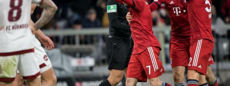 Bayern München - 1. FC Nürnberg - Foto: Sven Hoppe