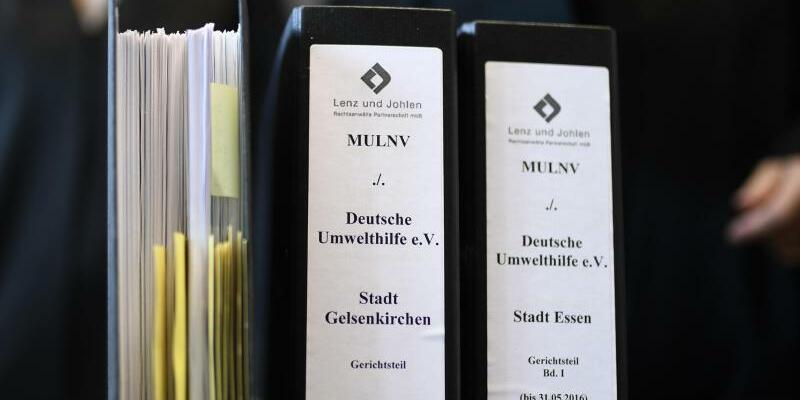 Klagen der Deutschen Umwelthilfe - Foto: Ina Fassbender