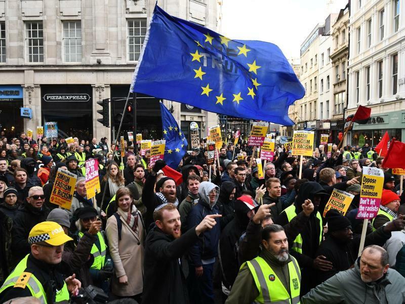 Brexit Demonstration in London - Foto: Victoria Jones/PA Wire