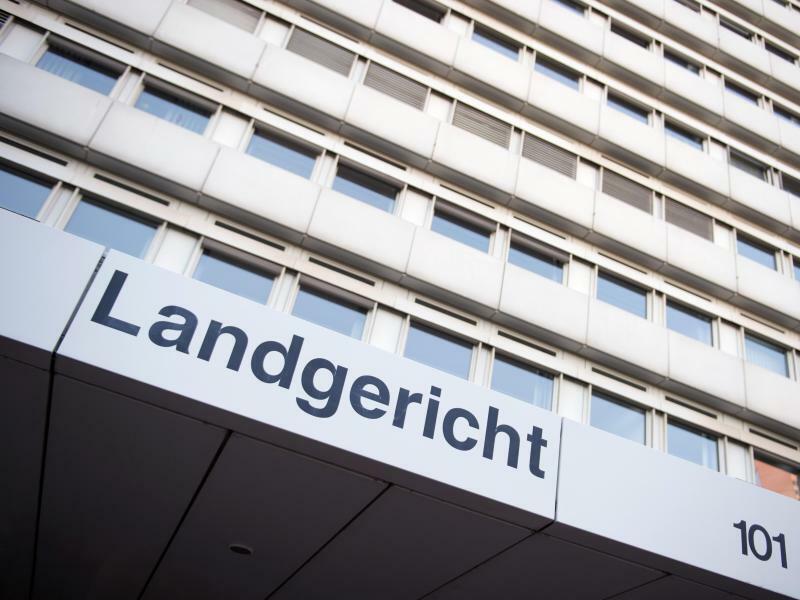 Land - und Amtsgericht Köln - Foto: Marius Becker/Illustration