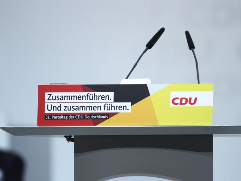 CDU-Parteitag Dezember 2018 - Foto: über dts Nachrichtenagentur