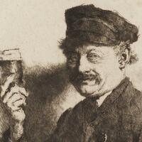 «Der Trinker» - Foto: Kunsthalle Mannheim