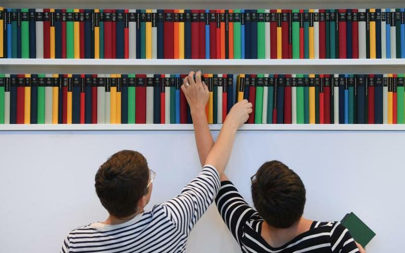 Bücherverkauf sinkt in Deutschland - Foto: Arne Dedert