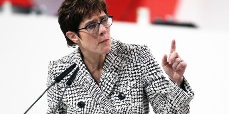 Annegret Kramp-Karrenbauer am 07.12.2018 - Foto: über dts Nachrichtenagentur