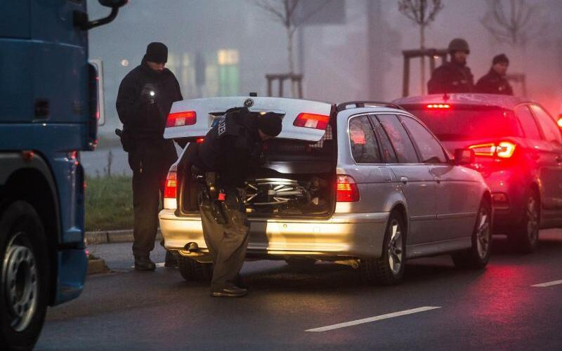 Fahrzeugkontrolle Kehl - Foto: Christoph Schmidt