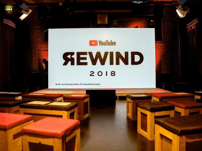 YouTube Rewind 2018 - Foto: Christoph Soeder