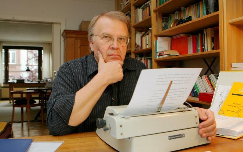 Wilhelm Genazino gestorben - Foto: Arne Detert