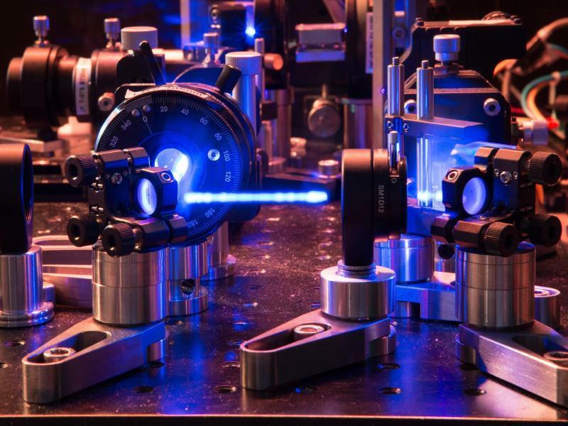 Erstes abhörsicheres Quantennetzwerk mit vier Teilnehmern - Foto: Fabian Oliver Steinlechner/ÖAW