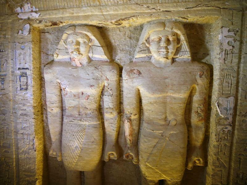 Grabstätte in Ägypten - Foto: Mahmoud Abdelghany