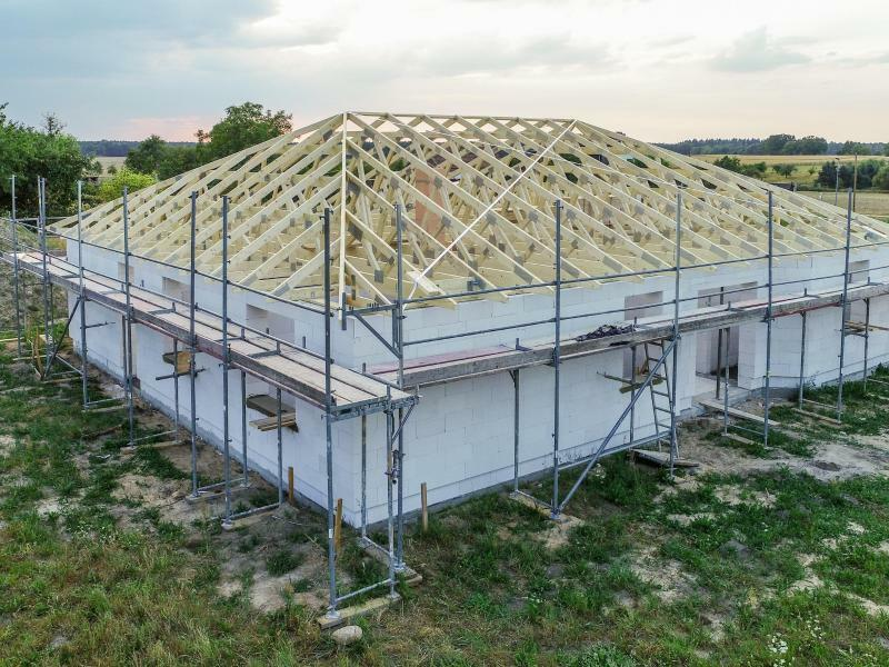Eigenheim wird gebaut - Foto: Patrick Pleul