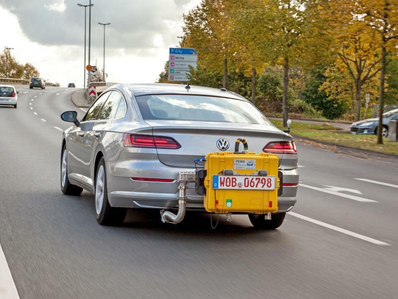 WLTP-Abgastest - Foto: Volkswagen AG
