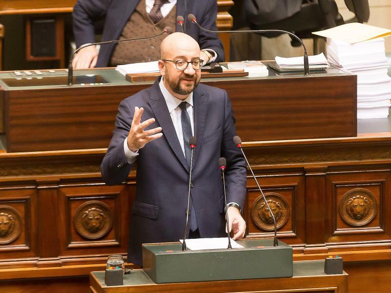 Belgiens Ministerpräsident Charles Michel - Foto: James Arthur Gekiere/BELGA