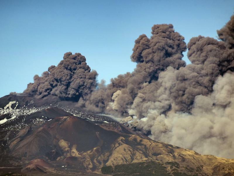 Vulkan Ätna - Foto: Salvatore Allegra/AP
