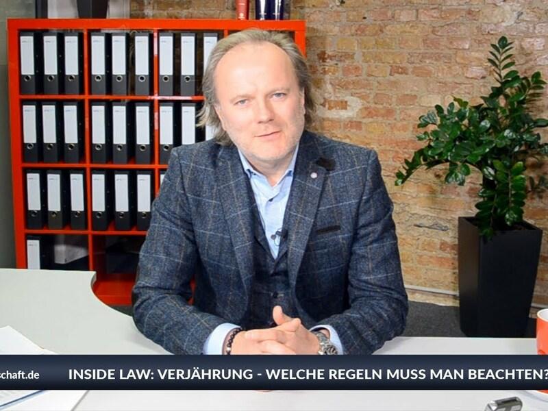 Zum Jahreswechsel erklärt Rechtsanwalt Niels Andersen (APS Financial Law), was Verjährung ist, was genau alles verjähren kann, welche Regeln es dazu gibt und wie man Verjährungsprobleme bereits im Vorfeld vermeidet. Die Details bei Inside Law. - Foto: anlegerverlag.de