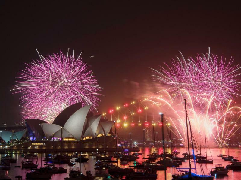 Frohes neues Jahr! - Foto: Brendan Esposito/AAP