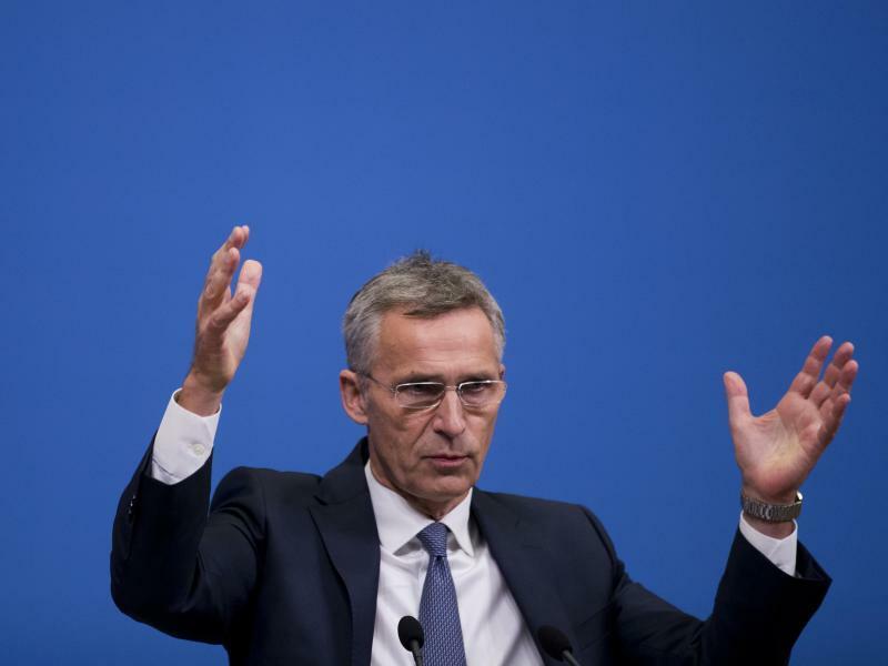 Jens Stoltenber - Foto: Nato-Generalsekretär Jens Stoltenberg betonte, dass er weiter auf den Dialog mit Moskau setze. Es sei aber Russland, das aktuell den INF-Vertrag über den Verzicht auf atomare Mittelstreckenwaffen breche. Foto:Francisco Seco