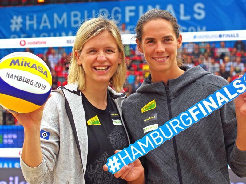 Laura Ludwig und Kira Walkenhorst - Foto: Markus Tischler
