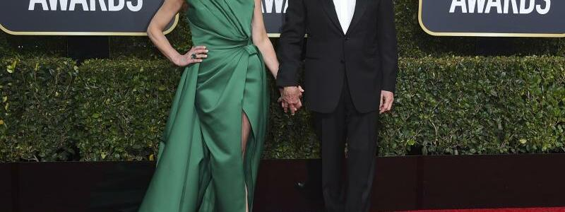 Golden Globes - Douglas & Zeta-Jones - Foto: Jordan Strauss/Invision/AP