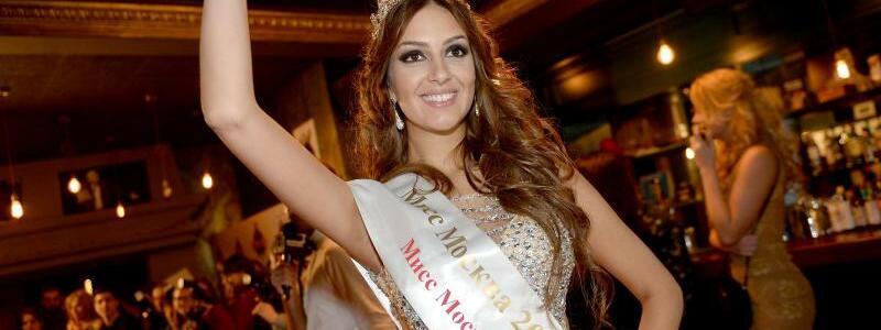 Miss Moskau 2015 - Oksana Woewodina - Foto: Ekaterina Chesnokova/Sputnik/