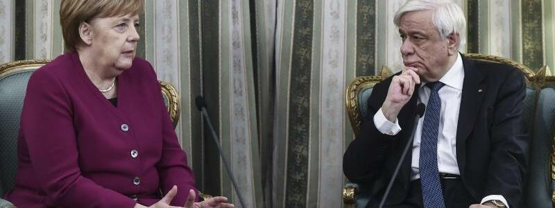 Merkel besucht Griechenland - Foto: Angelos Tzortzinis