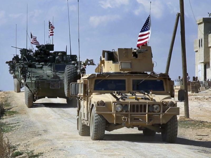 US-Truppen in den Syrien - Foto: Arab 24 network/AP
