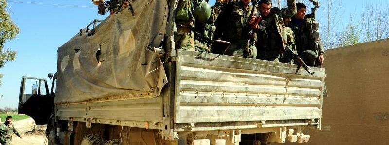 Syrische Soldaten - Foto: Ammar Safarjalani/Xinhua