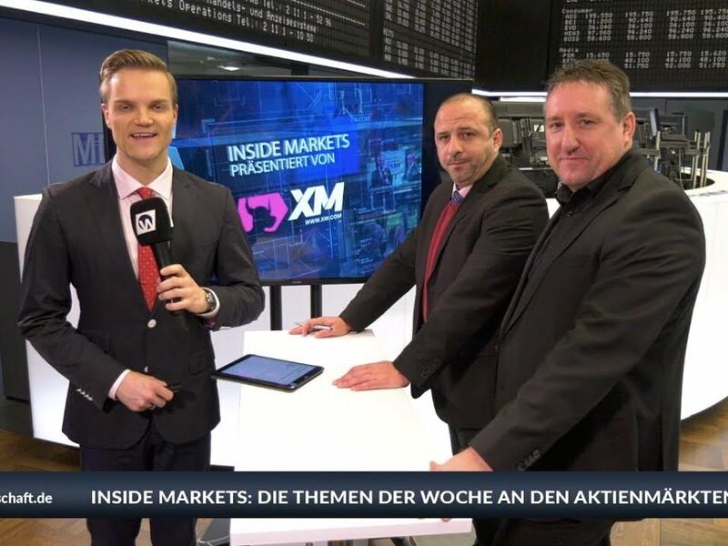 Der Dax hat diese Woche wieder etwas zugelegt und tendiert rund um die Marke von 11.000 Punkten. XM-Experte Markus Gabel sieht da aber nur ein kurzes Strohfeuer. XM-Marktanalyst Samir Boyardan ist weiterhin sehr optimistisch für Gold. Beim Thema Währungen sind sich die beiden allerdings nicht einig. Der Streit der Titanen bei XM Inside Markets mit Manuel Koch von der Frankfurter Börse. Mehr Informationen auf www.xm.com - Foto: anlegerverlag.de