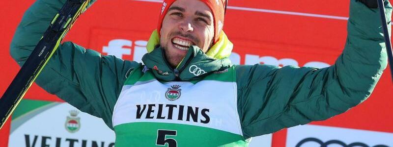 Johannes Rydzek - Foto: Andrea Solero/ANSA/AP