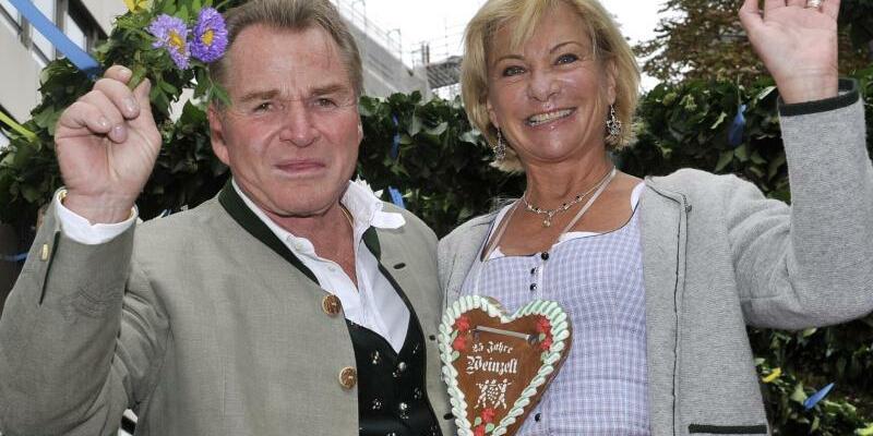 Fritz und Angela Wepper - Foto: Ursula Düren