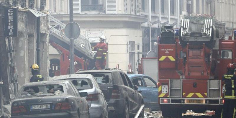 Explosion in Paris - Foto: Kamil Zihnioglu/AP