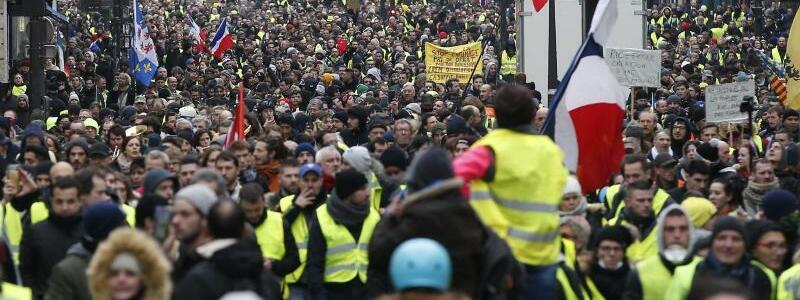 Protestmarsch - Foto: Thibault Camus/AP