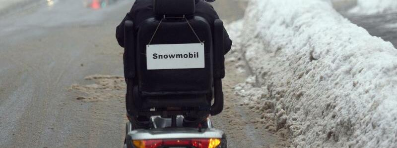«Snowmobil» - Foto: Angelika Warmuth