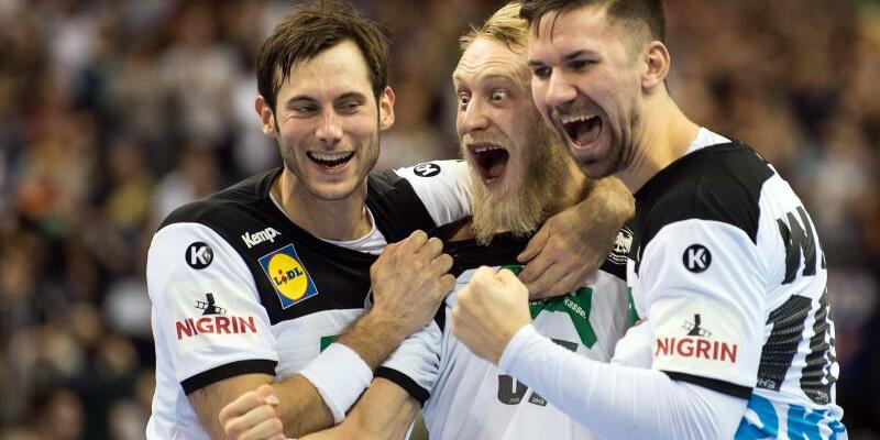 Deutsches Handball Team - Foto: S. Stache
