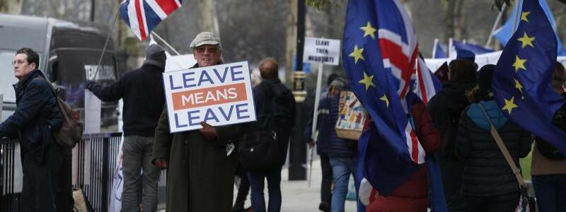 Demonstranten - Foto: Alastair Grant/AP