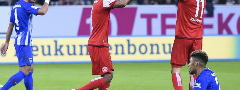 Fortuna Düsseldorf - Hertha BSC - Foto: Christophe Gateau