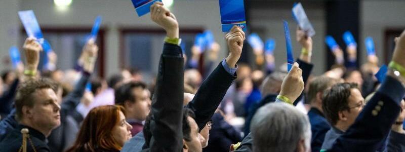 Europawahlversammlung der AfD - Foto: Monika Skolimowska