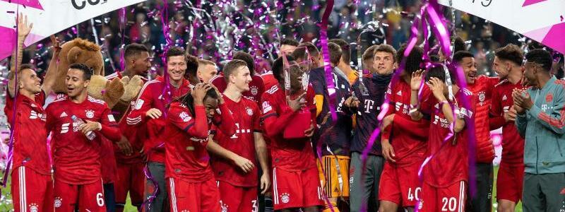 FC Bayern München - Borussia Mönchengladbach - Foto: M. Becker